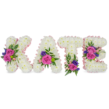Funeral Flowers Name Tribute