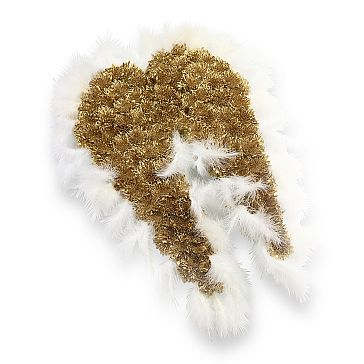 GOLD ANGEL WINGS TRIBUTE