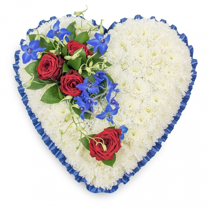 The Meaning behind Traditional Funeral Flowers