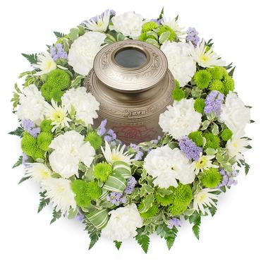 Urn Flower Tribute