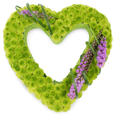 Funeral Hearts Flowers