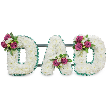 Dad Funeral Flower Tribute