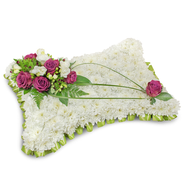 Funeral Cushion Delivered