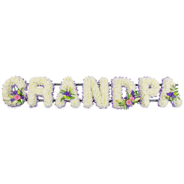 Grandpa Funeral Letters