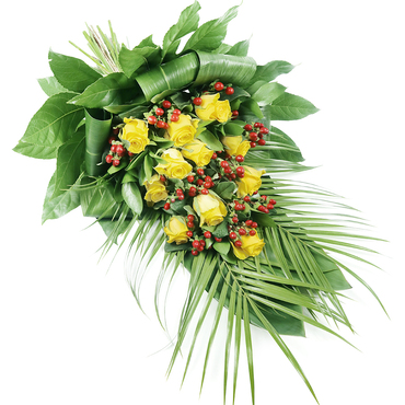 Funeral Spray Arrangement