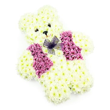 WHITE TEDDY BEAR TRIBUTE